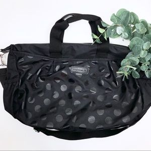 Stellakim Olivia Diaper Bag Black Polka Dot Baby